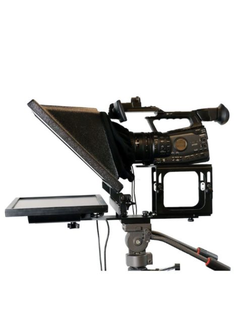 Teleprompter sideview